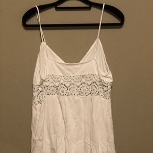 Urban Outfitters Pants - White Lace Romper